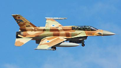 Israel's F-16I fighter jet