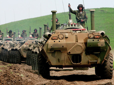 Israel blocks delivery of Russian armored vehicles to Palestinian territories