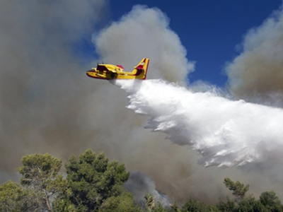 Israeli wildfire breaks the ice with Turkey