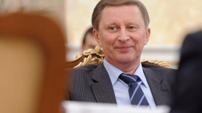"Russia protest law follows ""best world practices"" – Sergey Ivanov"