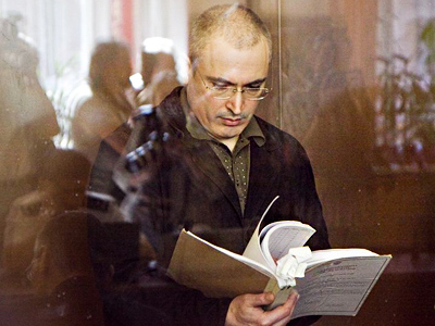 Khodorkovsky calls on Medvedev to restore justice