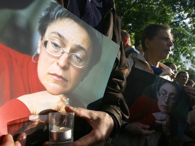Suspected killer of journalist Politkovskaya detained in Chechnya
