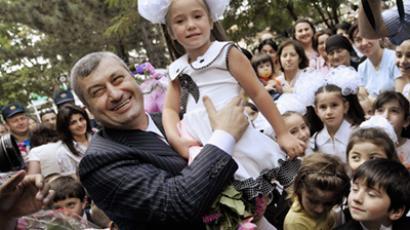 South Ossetian deadlock ends as President steps down?