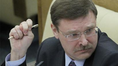 Konstantin Kosachev, the chairman of the State Duma Committee on Foreign Affairs (RIA Novosti/Vladimir Fedorenko)
