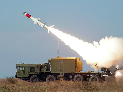 Bal-E coastal defense missile system (Image from army-news.ru)