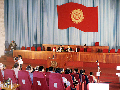 Three Kyrgyz parties agree to form coalition government
