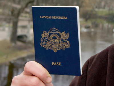 Latvian passport (AFP Photo/Ilmars Znotins)