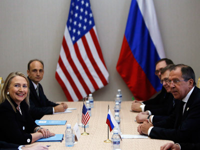 Road to Reset? Clinton and Lavrov map out goals