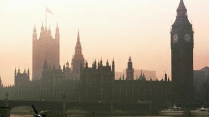 Foggy Waters and Buildings, Westminster