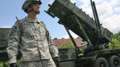 A battery of the American Patriot air defense missiles deployed at the Polish town of Morag, some 60 km from the border on Russia's Kaliningrad Region. One hundred American soldiers arrived with the missile systems. (RIA Novosti / Igor Zarembo)