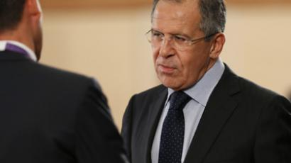 Minister of Foreign Affairs of the Russian Federation Sergey Lavrov (RIA Novosti / Alexandr Kryazhev)