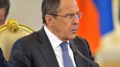 Russia's FM calls on Syrian opposition to propose 'own' peace plan