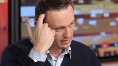 Member of the coordinating council of the opposition, lawyer Alexei Navalny (RIA Novosti / Syisoev)