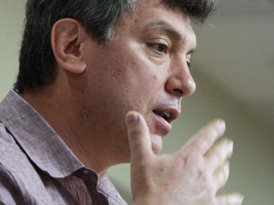 "Co-Chairman of the ""People's Freedom"" party (PARNAS) Boris Nemtsov (RIA Novosti/Andrey Stenin)"