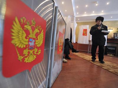 Voters league blasts presidential poll as illegitimate. (RIA Novosti / Artem Zhitenev)