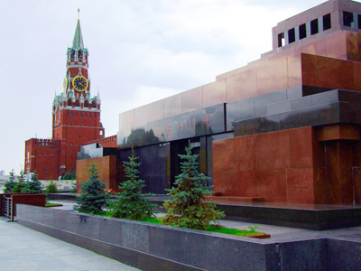 The Kremlin Wall and the mausoleum