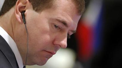 Dmitry Medvedev (AFP PHOTO / Kham / Pool)