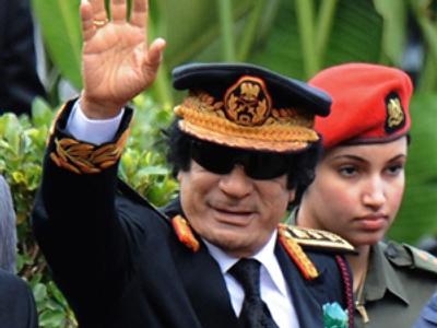 Muammar Qaddafi (AFP Photo / Pool / Alexander Joe)