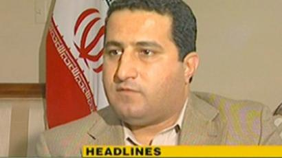 An image grab taken from a video broadcast by Iran's state-run English-language Press TV on July 14, 2010, shows Iranian nuclear scientist Shahram Amiri (AFP Photo / DSK)