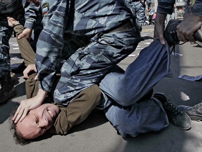 Picket against law on rallies (RIA Novosti/Andrey Stenin)