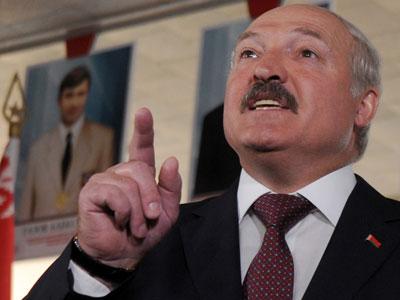 President of Belarus Aleksandr Lukashenko.(AFP Photo / Viktor Drachev)