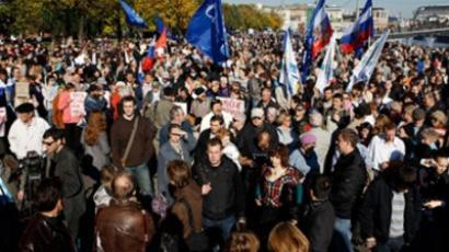 Pro-democracy veteran Yavlinsky blasts protests as imitation politics