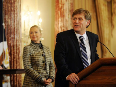 Russia-US reset entering 'new phase' – McFaul