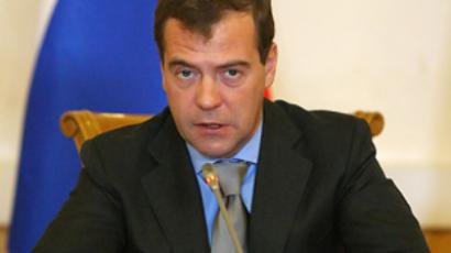 Medvedev explains how to build Russia-US ties