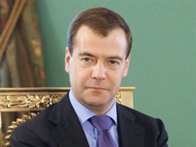 Russian President Dmitry Medvedev (AFP Photo / RIA Novosti / Kremlin Pool / Mikhail Klimentyev)