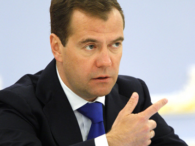 Medvedev signs new laws to improve election system
