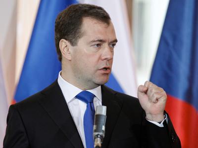 Medvedev: Protests a manifestation of democracy