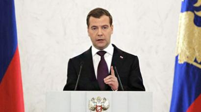 Medvedev makes complaints system mobile