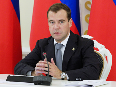 Medvedev praises improvement of investment climate