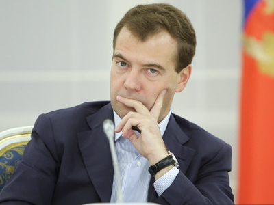 Move forward or move aside, Medvedev warns state company heads