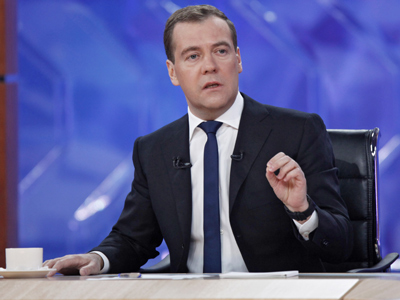 Medvedev advocates reforms, promises more changes in TV interview