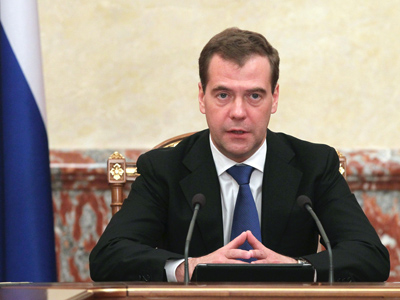 Medvedev joins United Russia