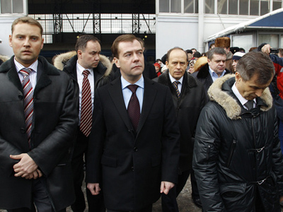 Medvedev's snap station inspection shows lax security