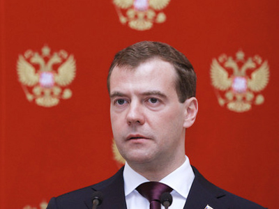 President Dmitry Medvedev (RIA Novosti / Dmitry Astakhov)
