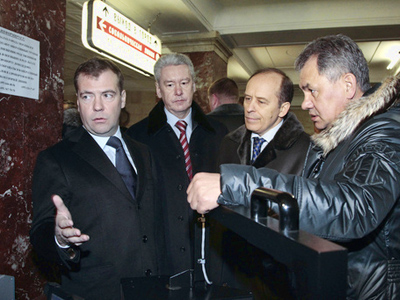 Medvedev goes deep on transport security