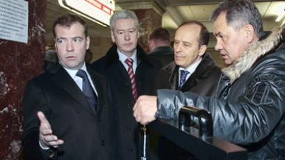 Medvedev lashes out after another surprise inspection