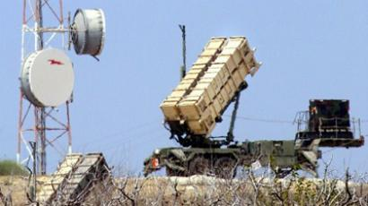 Two Patriot anti-missile batteries (AFP Photo / Thomas Coex)