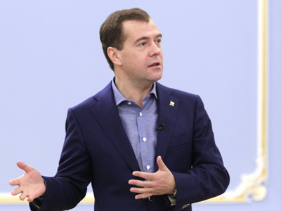 Medvedev 'drops a bomb' on missile defense