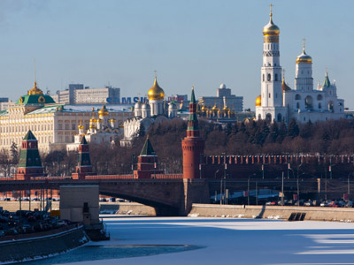 View of the Kremlin (RIA Novosti/Mikhail Fomichev)