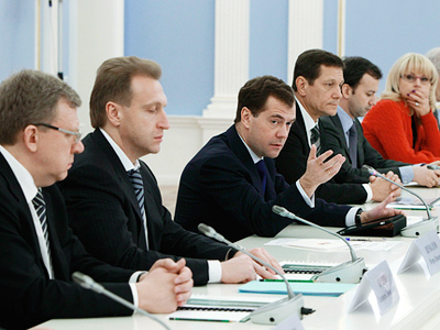Medvedev calls on governors to develop programs for single-industry cities