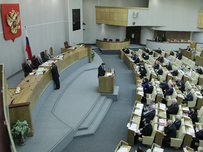 Russian president proposes lowering threshold for parties in Duma elections