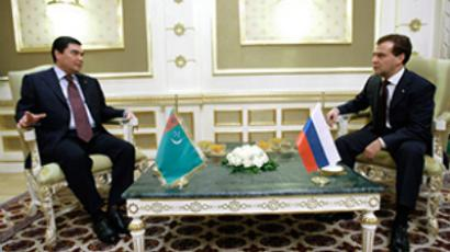 Gas tops Medvedev's agenda in Turkmenistan