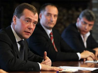 Medvedev mulls banning third presidential term