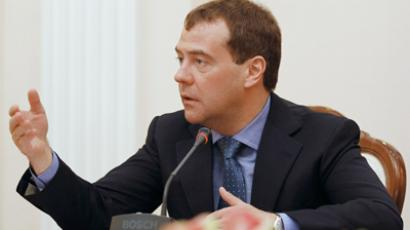 Medvedev cuts party registration red tape