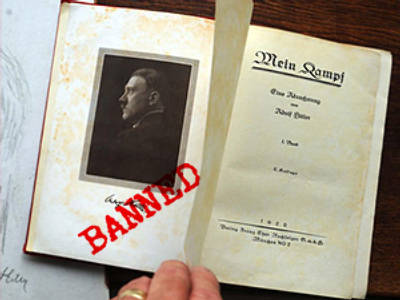 Hitler's book banned as extremist