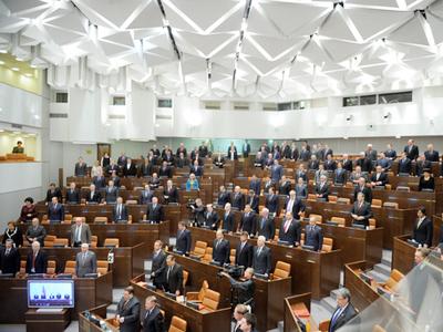 Members of the Federation Council (RIA Novosti / Grigory Susoev)